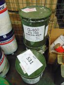 3X 12.5 KGS DRUMS OF GENERAL PURPOSE GRAPHITE GREASE XG 286 SUITABLE FOR AIRCRAFT, VEHICLES, ETC.
