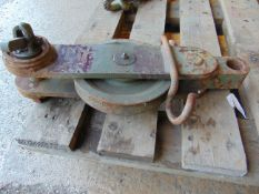 10.5t Single Recovery Pulley Block, as issued on CVR(T) Samson CES