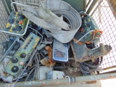 Pallet of Recovery Equipment inc. Crane/Winch Control Boxes etc. used on Foden Recovery 6x6