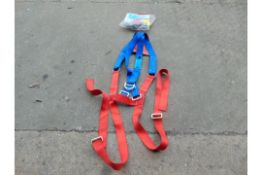 SAFETY HARNESS & LANYARD WITH FALL ARRESTER