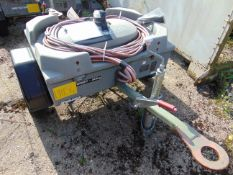 TROLLEY BATTERY AIRCRAFT STARTER C/W BATTERIES AND LEADS FROM R.A.F.