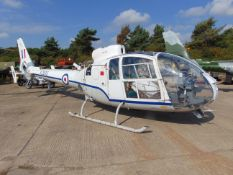 GAZELLE TURBINE HELICOPTER XZ935 Sn 1742 From the UK Ministry of Defence with paperwork as shown.