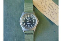 CWC W10 British Army Service Watch Nato Marked Date 1998 New battery and strap