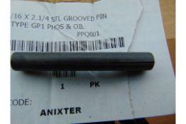 200 x 5/16 x 2&1/4 STEEL GROOVED PINS TYPE GP1 PHOS & OIL