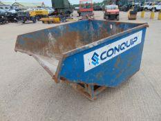 Conquip Autolock Forklift / Telehandler Tipping Skip