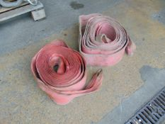 2 x 10m 9.6t Recovery Flat Slings