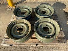 4 x Land Rover Defender Wolf Heavy Duty Wheel Rims