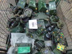 1 x Stillage Box of Clansman Radio Equipment inc chargers ETC