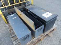 3 x Vehicle Tool Boxes as shown