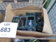 1 x Stillage of Clansman Radio equipment inc Fitting Kits, cables etc