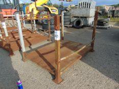 Heavy Duty Steel MoD Stacking Post Stillage as Shown