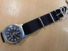 CWC 0552 ROYAL MARINES/ NAVY ISSUE SERVICE WATCH DATED 1990 (GULF WAR)