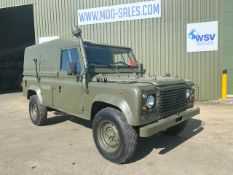 1997 Military Specification Left Hand Drive Land Rover Wolf 110 FFR Hard Top ONLY 172,783Km