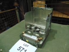 UNISSUED BRITISH ARMY N.12 MULTIFUEL COOKER