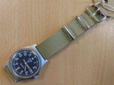 CWC W10 SERVICE WATCH NATO MARKED DATED 1991 (GULF WAR)