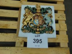 Hand Painted Royal Crest as Shown 35cmx35cm
