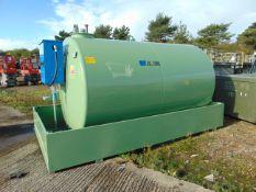 2021 Unused Emiliani Serbatoi 8995 litre bunded Static Fuel installation c/w 230V Pump meter ETC