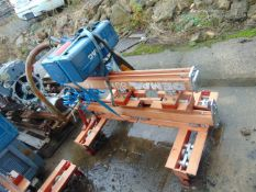 DEMAG OVERHEAD CRANE WITH WINCH AND REMOTE CONTROL