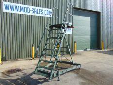 Test-Fuchs Aluminium Collapsible Warehouse Access Steps