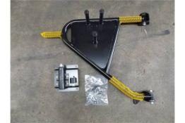 Land Rover Swing Out Spare Wheel Carrier Kit VPLDR0129