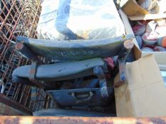 1X PALLET LANDROVER SPARES INC SEATS, STATERS, ETC
