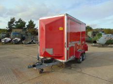 From UK Fire & Rescue Bingham 2 axle Show Trailer c/w spare wheel etc