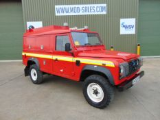 1 Owner Land Rover Defender 110 TD5 Saxon Firefighting Vehicle ONLY 34,600 MILES!