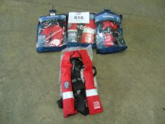 4 x Crewsaver Crewfit 275N Life Jackets