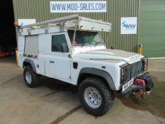2011 Land Rover Defender 110 Puma hardtop 4x4 Utility vehicle (mobile workshop)