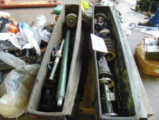 2 x 120mm Gun Cleaning Kits Etc as shown