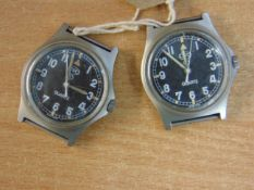 2X CWC SERVICE WATCHES 1X 0552 DATE 1990 / 1X W10 DATE 1998 NATO MARKED