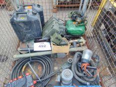 TX Stillage Veh/FV CES Equipment as shown