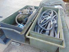 2 x Refuelling kits in HD Aluminium Vehicle Transit Cases