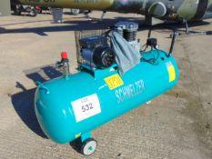 2021 Unissued Schmelzer 300L workshop Air Compressor as shown