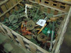 30 x Vintage Cast Iron Water Pumps as shown