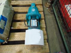 You are bidding for a Unissued 220 Volt 1Hp water pump 3.5 m3 / 40m head