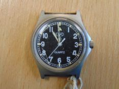 V, RARE CWC 0552 ROYAL MARINES ISSUE FAT BOY CASE SERVICE WATCH DATED 1985
