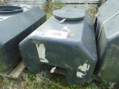 100 Gall demountable water tank with Lid as shown