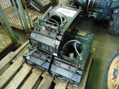 3 x Le Maitre G300 Smoke Machines