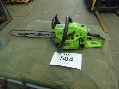 Jacobs ZJ-01-58 Petrol Chain saw as shown