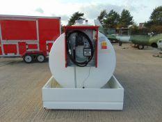 2020 Unused Emiliani Serbatoi 3172 litre bunded Static Fuel installation c/w 230 Volt Pump meter Etc