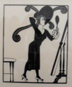 Eric Gill, DRESS, wood engraving on paper, copy number 204 from an edition of 400, Reference: