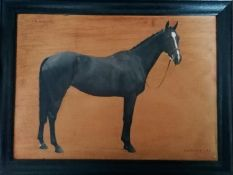 Florence Mabel Hollams SWA (Mrs C L Fox) (1877-1963) PRIMROSE, signed, oil on panel, 32.5 x 45 cm,