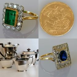 Silver, Jewellery & Collectibles