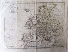 'A New Map of Turkey in Europe', 'A New Map of Europe' by J. Bayly, both published by Harrison & Co.