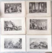 Thomas Allom (1804-1872), mostly from ALLOM'S CHINA, an assortment of loose, approximately 78