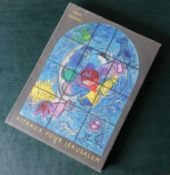 Marc Chagall, VITRAUX POUR JERUSALEM, introduction by Jean Leymarie, published by Andre Sauret,