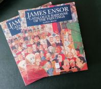 Xavier Tricot, James Ensor, Catalogue Raisonné of the Paintings, Pandora/Ortelius, Antwerp, 1992,