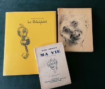 Marc Chagall, MA VIE, 1931, autobiography, first edition, number 1331, translated into French by