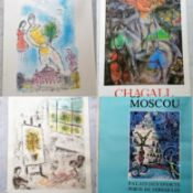 Marc Chagall, Galerie Maeght, Chagall peintures, 1977-1979, colour photo-lithographic poster,